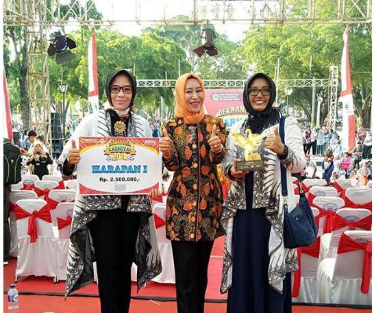 Pesta rakyat Jawa Tengah dalm rangka HUT Jateng